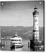 Lighthouse Lindau Lake Constance Germany Acrylic Print