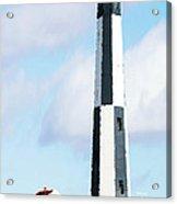 Lighthouse Living - New Cape Henry Lighthouse Acrylic Print