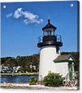 Lighthouse Mystic Seaport Acrylic Print