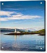Lighthouse Near Oban In Scotland Acrylic Print