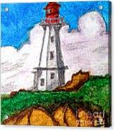 Lighthouse Nova Scotia Acrylic Print