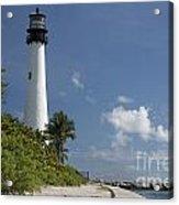 Lighthouse On A Sunny Day Acrylic Print