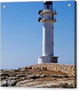 Lighthouse On Cap De Barbaria On Formentera Acrylic Print
