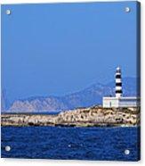 Lighthouse On Isla De Es Penjats Acrylic Print
