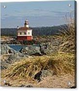 Lighthouse Over The Dunes Acrylic Print