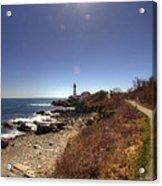 Lighthouse Path Acrylic Print by Joann Vitali