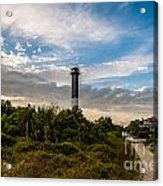 Lighthouse Pathway Acrylic Print