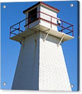 Lighthouse Pei Acrylic Print by Edward Fielding