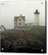 Lighthouse - Photo Watercolor Acrylic Print