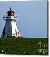 Lighthouse Prince Edward Island Acrylic Print