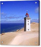 lighthouse Rubjerg Acrylic Print by Giorgio Darrigo