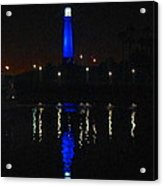 Lighthouse San Pedro Bay Acrylic Print