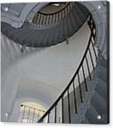 Lighthouse Stairs 3 Acrylic Print