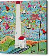 Cape May Point Lighthouse Magic Acrylic Print