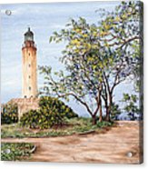 Lighthouse Acrylic Print by Victor Collector