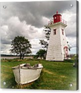 Lighthouse Victoria By The Sea Pei Acrylic Print