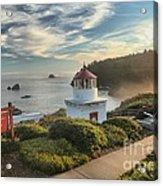 Lighthouse Walk Acrylic Print by Adam Jewell
