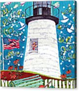 Lighthouse With Music Acrylic Print