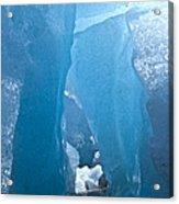 Lighting In Nigardsbreen Glacier Grotto 1 Acrylic Print