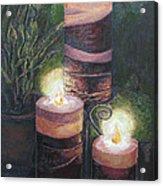 Lighting The Dark Corners Acrylic Print by Prasida Yerra