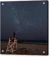 Lighting The Way To The Milkyway Acrylic Print