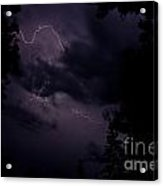 Lightning 12 Acrylic Print
