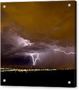 Lightning 13 Acrylic Print