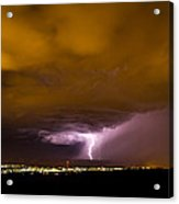 Lightning 18 Acrylic Print