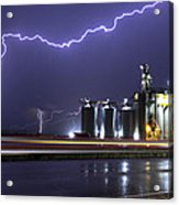 Lightning Acrylic Print by Gerald Murray Photography