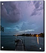 Lightning Lighting Acrylic Print