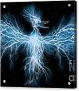 Lightning Phoenix Acrylic Print