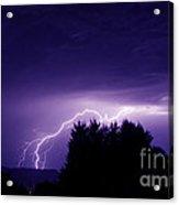 Lightning Skies Acrylic Print