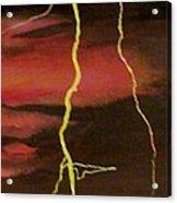 Lightning Sky Acrylic Print