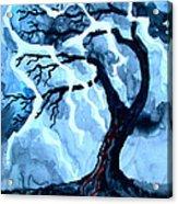 Lightning Tree Acrylic Print