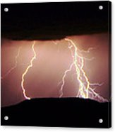 Lightning Walking  Acrylic Print