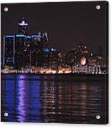 Lights On The Water Acrylic Print