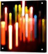 Lights Party Acrylic Print