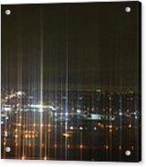 Light's Sound Waves Acrylic Print by Naomi Berhane