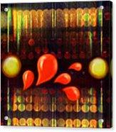 Lights_bleed Acrylic Print