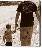 Like Father Like Son Acrylic Print