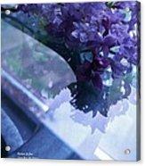 Lilac Glass Acrylic Print