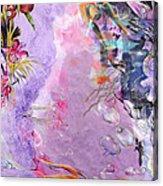 Lilac Goldfish Acrylic Print