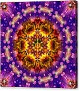 Sacred G Mandala 2 Acrylic Print