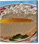 Lilikoi Cheese Pie Acrylic Print by Dan McManus