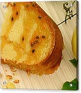 Lilikoi Lime Pound Cake Acrylic Print