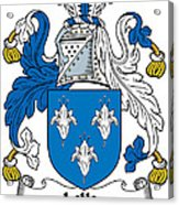 Lillie Coat Of Arms Irish Acrylic Print