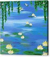 Lillies 1 Acrylic Print