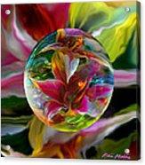 Lillium Bulbiferum Acrylic Print