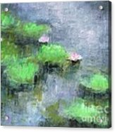 Water Lilly's  Acrylic Print