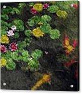 Lily 0147 - Watercolor 2 Sl Acrylic Print